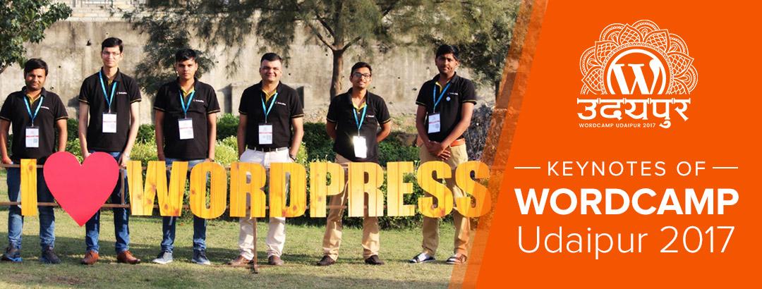 KrishaWeb visited WordCamp Udaipur 2017