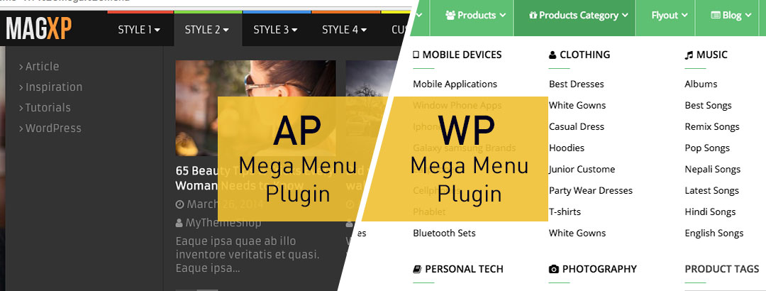 WP Mega Menu Plugin replaced by AP Mega Menu