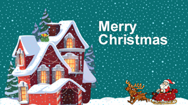 Wishing You A Merry Christmas & Happy New Year - KrishaWeb
