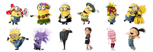 Despicable Stickers