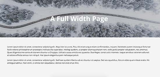 Learning to create full width page template in wordpress krishaweb if you cannot find a full width template option on your page edit screen then the theme you are using does not have a full width page template maxwellsz